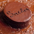 Stock Photo: Sacher cake