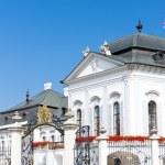 Presidential residence in Grassalkovich Palace, Bratislava, Slov — Stock Photo #11425393