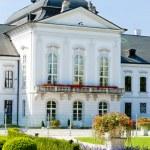 Presidential residence in Grassalkovich Palace, Bratislava, Slov — Stock Photo #11425404