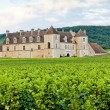 Clos Blanc De Vougeot Castle, Burgundy, France — Stock Photo