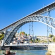 Dom Luis I Bridge, Porto, Portugal — Stock Photo