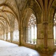 Royal cloister of Santa Maria da Vitoria Monastery, Batalha, Est - Stockfoto