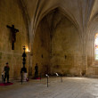 Chapter hall of Santa Maria da Vitoria Monastery, Batalha, Estre — Stock Photo #11426769