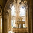 Interior of Santa Maria da Vitoria Monastery, Batalha, Estremadu — Stock Photo