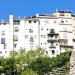 Hanging houses, Cuenca, Castile-La Mancha, Spain - Foto de Stock  