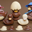 Stock Photo: Easter chocolate