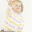 Portrait of toddler — Stock Photo