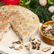 Special Christmas mushroom pastry — Stock Photo