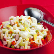 Traditional Czech Christmas potato salad — Stock Photo #11428224