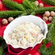 Traditional Czech Christmas potato salad — Stock Photo #11428241