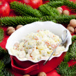 Traditional Czech Christmas potato salad — Stock Photo #11428244