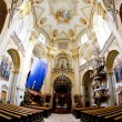 Stock Photo: Interior of pilgrimage church, Wambierzyce, Poland