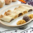 Burritos with beans and rice - 