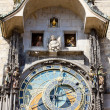 Horloge at Old Town Square, Prague, Czech Republic - Stock Photo