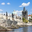 Charles bridge, Prague, Czech Republic — Stock Photo