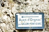 Pont d'Arc, Ardeche, Rhone-Alpes, France — Foto de Stock