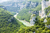 Ardeche Gorge, Rhone-Alpes, France — Stock Photo