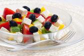Greek salad — Foto Stock