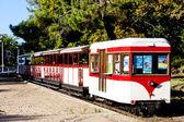 Narrow gauge railway, St-Troyan-Les-Bains, Poitou-Charentes, Fra — Stock Photo