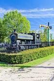 Steam locomotive, Venta de Banos, Castile and Leon, Spain — Stock Photo