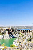 Villalcampo dam, Castile and Leon, Spain — Stock Photo
