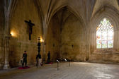 Chapter hall of Santa Maria da Vitoria Monastery, Batalha, Estre — Stock Photo