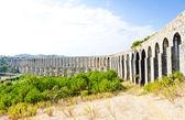 Pegoes Aqueduct, Estremadura, Portugal — Stock Photo