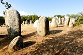 Cromlech of Almendres near Evora, Alentejo, Portugal — Stock Photo