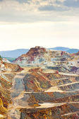Copper mine, Minas de Riotinto, Andalusia, Spain — Stock Photo