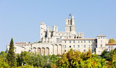 Saint-Nazaire cathedral, Beziers, Languedoc-Roussillon, France — Stock Photo