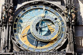 Detail of horloge at Old Town Square, Prague, Czech Republic — Stock Photo