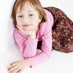 Portrait of little girl — Stock Photo #11430216
