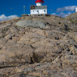 Lighthouse, Lindesnes, Norway — Stock Photo