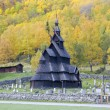 Stock Photo: Borgund Stavkirke, Norway