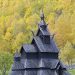 Borgund Stavkirke, Norway — Stock Photo