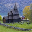 Urnes Stavkirke, Norway — Stock Photo