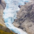 Melkevollbreen Glacier, Jostedalsbreen National Park, near Brigs — Stock Photo #11431008