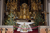 Interior of church of Saint Mary with Infant Jesus Of Prague, Th — Stock Photo