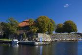 Harbour of Kristiansand, Norway — Stock Photo