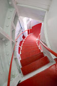 Lighthouse's staircase, Lindesnes, Norway — Stock Photo