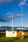 Meteorologic station, Lista, Norway — Stock Photo