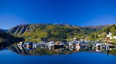 Fjord Ulvik, Norway — Stock Photo
