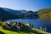 Lake Granvin Vatne, Norway — Stock Photo