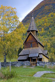 Urnes Stavkirke, Norway — Stockfoto