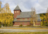Church near Torpo, Norway — Stockfoto