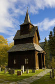 Stavkirke di torpo, norvegia — Foto Stock