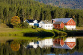 Countryside, Norway — Stock Photo