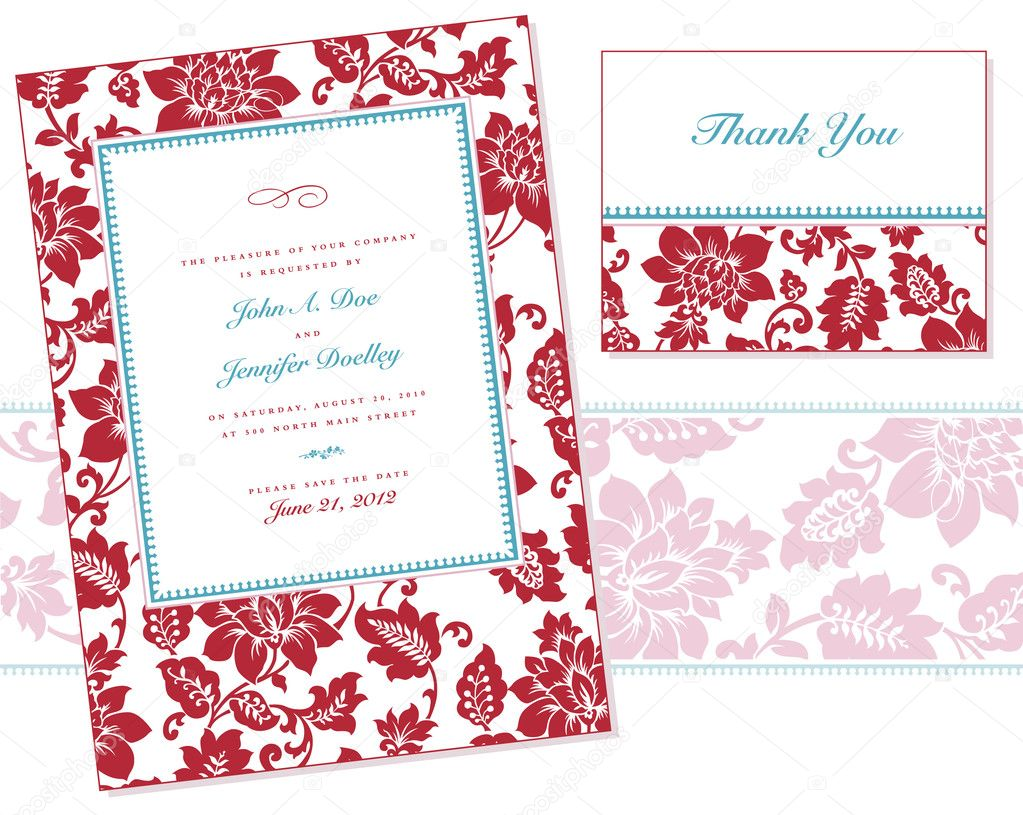 Vector Rose Frame Set. Easy to edit. Perfect for backgrounds, invitations or announcements. — Stock Vector #11530231