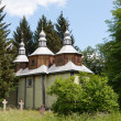 Old wooden church — Stockfoto