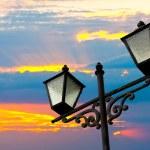 Street lamps — Stock Photo